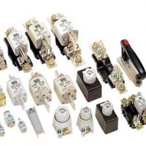 Corta circuitos e fusíveis